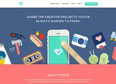 Fostr - CoolHomepages Web Design Gallery