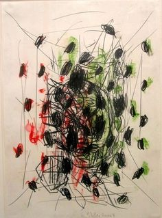 Baselitz, Georg (1938- ) - 1991 Untitled (Museum of Modern Art, New York)