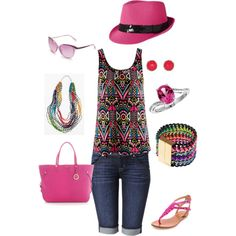 Easy Summer Day by mswhit62 on Polyvore