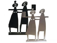 Love this candlestick holder, gift from Linda, designed by Bengt and Lotta