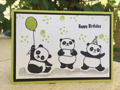 Party Pandas – Shannon Kissane, Lemon Lime Twist, Stampin' Up, Sale-a-bration 2018