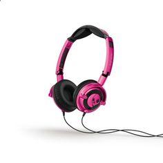Roze Skullcandy hoofdtelefoon #roze #hoofdtelefoonhttp://www.fonq.nl/product/skullcandy-hoofdtelefoon-lowrider-on-ear-w-mic-1/81464/