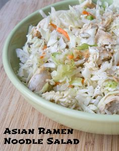 Asian Ramen Noodle Salad ~ new 31 Days of 31-Minute Dinners recipe on 5DollarDinners.com