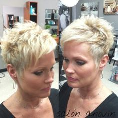 Superb Short Pixie Haircuts for Women - Are you looking for an extraordinary innovation? Are you tired of your long boring hair style? Pixie Haircut Thin Hair, Thin Hair Haircuts, Short Pixie Haircuts, Pixie Hairstyles, Cool Hairstyles, Braid Hairstyles, Hairstyle Ideas, Long Hairstyle, Short Pixie Cuts