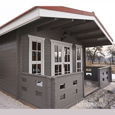 Domek drewniany letniskowy Ania 20m2