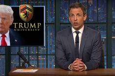 Seth Meyers has the final word on Donald Trump: It's racism