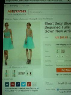 Light Blue Formal Dress 10