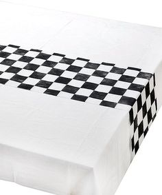 c559ed8a362 Talking Tables Black   White Checkerboard Mix   Match Table Runner