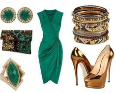 Combination of clothes & accessories image | Combination of clothes and accessorize pics