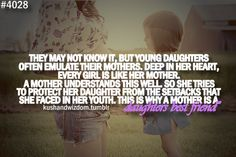 I love my baby girl, loved her in the womb, love her as a little baby, and look forward to loving her as a little girl. I am blessed with my daughter!
