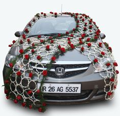 Car decoration car decoration pinterest decoration cars and india products elegant car decorationsindian gifts portal junglespirit Choice Image
