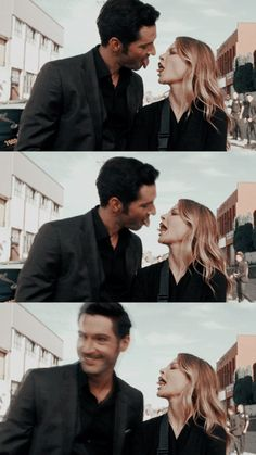 Son Of The Morning, Morning Star, Series Movies, Tv Series, Detective, Chloe Decker, Tom Ellis Lucifer, Lauren German, Film Aesthetic