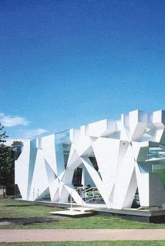 Serpentine Gallery Pavilion, Hyde Park, London, UK by Toyo Ito and Cecil Balmond + Arup  :: 2002
