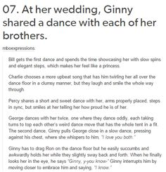 Ginny Weasley - Harry Potter The feels hit me hard here I started to cry when it got to George Harry Potter Ginny Weasley, Harry Potter Quotes, Harry Potter Love, Harry Potter Fandom, Harry Potter Universal, Harry Potter World, Ron Weasley, Hermione Granger, Fred And Hermione