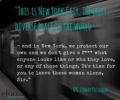 #DigitalMajlis #NYC #NewYork #Muslim #Islamophobia #Diversity #Support #Protect  #Subway #Quotes #QuoteOfTheDay #MotivationalQuotes...