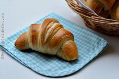 CROISSANTE RAPIDE - Rețete Fel de Fel Croissant, Cake Cookies, Nutella, Gem, Bread, Food, Brot, Essen, Crescent Roll