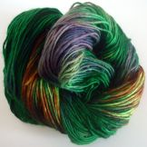 Worsted Merino Hand Dyed Forest