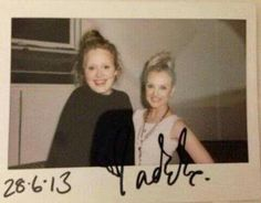Adele and Perrie Edwards