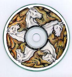 CD tessellation: Horse + Wolf by sethness.deviantart.com on @deviantART