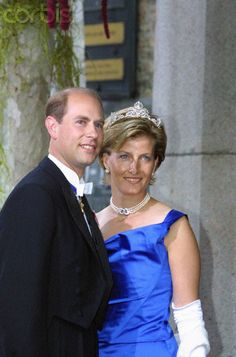 Prince Edward&Sophie,Countess of Wessex after their wedding