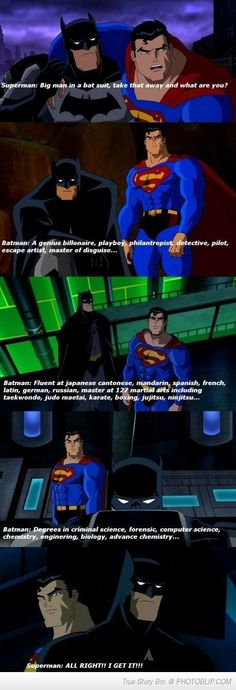 Why I Love Batman More Than Superman