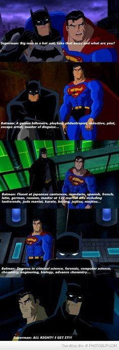 Why I Love Batman More Than Superman