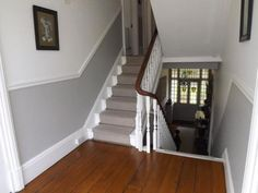 victorian stairs dado rail - Google Search