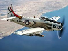 USN Douglas A-1H Skyraider