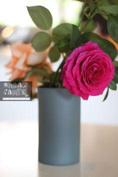 porcelain vase slate colour by urbancartel on Etsy, $39.00