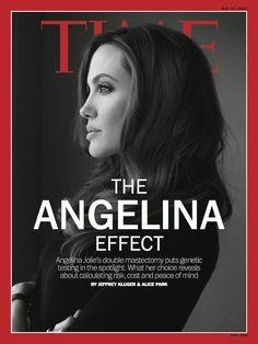 Angelina Jolie es la portada de revista Time