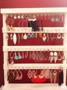 Jewellery Display, Closets, Advent Calendar, Jewerly, Dressing, Holiday Decor, Home Decor, Organizers, Manualidades