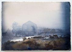 lars lerin, #115, 2012, 38x52 cm, akvarell