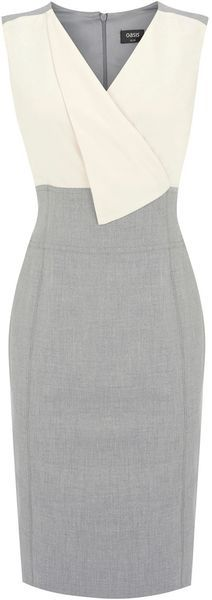 Oasis Fold Front 2 in 1 Dress...