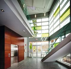 Beauty of a build at Parissa's new headquarters in Vancouver | LEED Gold sustainable architecture building