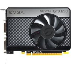 EVGA GeForce GTX 650 Graphic Card - 1058 MHz Core - 1 GB GDDR5 SDRAM - PCI-Express 3.0 x16 - by EVGA. $172.62. Main FeaturesManufacturer/Supplier: EVGA CorporationManufacturer Part Number: 01G-P4-2650-KRManufacturer Website Address: Brand Name: EVGAProduct Name: GeForce GTX 650 Graphic CardMarketing Information: If you're passionate about first-person shooters like Call of Duty, massively multiplayer online games like World of WarCraft, or real-time strategy games like StarCraf...