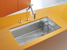 8 Degree Under-Mount Kitchen Sink | K-3673 | KOHLER