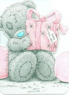 ideas for birthday friend happy tatty teddy Tatty Teddy, Late Birthday, Happy 50th Birthday, Belated Birthday Wishes, Birthday Greetings, Teddy Images, Teddy Bear Pictures, Watercolor Card, Teddy Bear Birthday