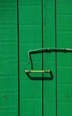 Door of green dreams