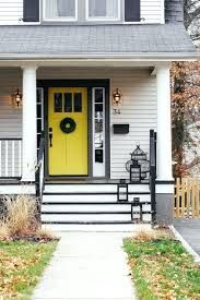 Image result for white house with black and yellow trim
