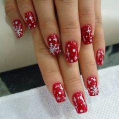 Image result for christmas fingernails