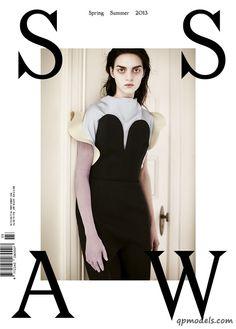Magda Laguinge for SSAW Magazine (Spring/Summer 2013) - http://qpmodels.com/american-models/magda-laguinge/1602-magda-laguinge-for-ssaw-magazine-spring-summer-2013.html