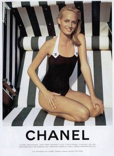 Chanel Swimwear 1996
