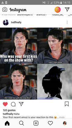 Ian😂😂😂 - Popular Netflix Movies,Series and Cartoons Suggestions Vampire Diaries Wallpaper, Vampire Diaries Damon, Vampire Diaries Quotes, Vampire Diaries The Originals, Damon Salvatore, Paul Wesley, Ian Somerhalder Vampire Diaries, Vampire Daries, Funny Relatable Quotes