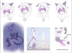 Chat Blanc by Ferisae