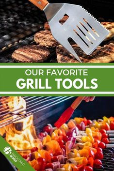 A recent poll shows 63% of Americans cook out at least once a month. We're no psychics, but we think that means grill gifts are appropriate just about any time! Whether you need a good gadget for Dad's birthday or a no-nonsense grill basket for your favorite vegetarian, you'll find something on our list of top picks. Grill Cart, Bbq Grill, Grilling Gifts, Healthy Grilling, Gadgets For Dad, Grill Basket, Grill Brush, Clean Grill, Grill Grates