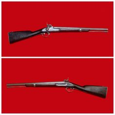Quite nice condition, .69 cal., Confederate Cavalry carbine, blacksmith crafted from an 1849 date, Model 1842 Springfield, 3-band musket.  It is smooth bore and would have carried a lethal load of buck or buck and ball.  This is a sharp looking little weapon, quite typical of which many Confederate Cavalrymen were armed.