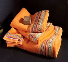 1000 images about orange bathroom on pinterest orange for Orange and grey bathroom accessories