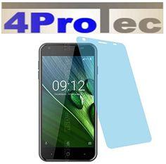 2 Stück HARTBESCHICHTETE KRISTALLKLARE Displayschutzfolie für Acer Liquid Z6 Bildschirmschutzfolie - http://uhr.haus/4protec/acer-liquid-z6-entspiegelt-schutzfolien