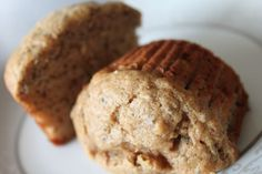 whole wheat banana protein muffins