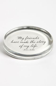 My friends have made the story of my life 〰 Helen Keller Bff Quotes, Friendship Quotes, Great Quotes, Inspirational Quotes, Quotable Quotes, Motivational, I Love My Friends, True Friends, Cheap Christmas Gifts